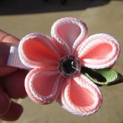 Kanzashi Flower Hair Clip/Bow